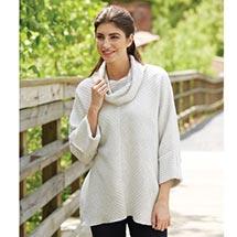 Pullover Fleece Tunic Top