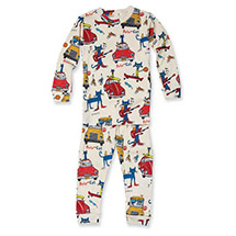 Pete the Cat Kids Pajamas - Natural Color