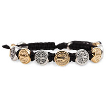 Benedictine Medals Blessings Bracelet