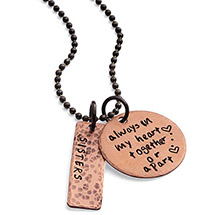 Personalized Always In My Heart Necklace