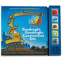 Goodnight, Goodnight Construction Site Board Book with Sounds