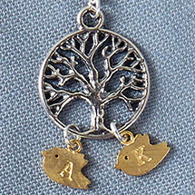 Additional Bird Charms for Family Tree Necklace