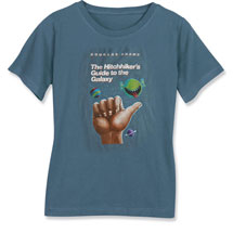 Hitchhiker's Guide to the Galaxy Ladies T-Shirt