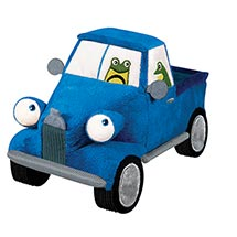Little Blue Plush Truck