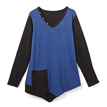 Reversible Knit Tunic Top