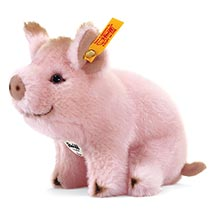 Steiff® Sissi Plush Piglet in Pink