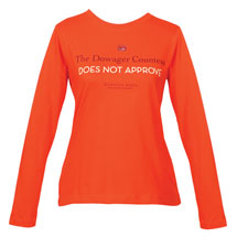 Downton Abbey Dowager Does Not Approve Long Sleeve T-Shirt