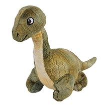 Dinosaur Plush Finger Puppets - Brontosaurus