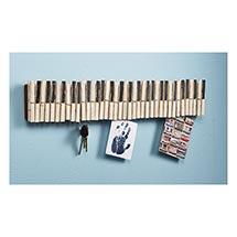 Piano Keys Note Holder