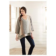 Ombre Layered Tunic Top