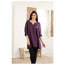 Simplify Linen Tunic