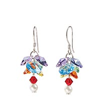Crystal Clusters Earrings