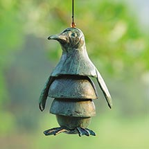 Penguin Wind Chime - Cast Iron