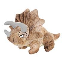 Dinosaur Plush Finger Puppets - Triceratops