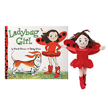 Ladybug Girl Gift Set: Book and Plush