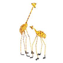 Seedpod Giraffes from Zimbabwe