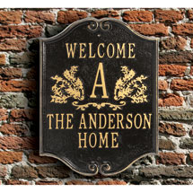 Personalized House Plaque