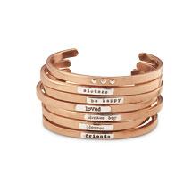 Copper Notes Bracelets