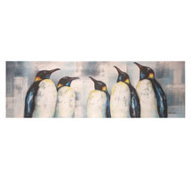Emperor Penguins Canvas