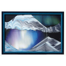 Aurora Borealis Shifting Sand Picture