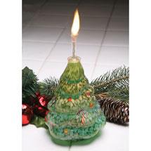 Christmas Tree Oil Lamp