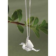 Origami Cranes Necklace