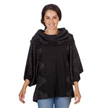 Kimono Sweater and Infinity Scarf Set
