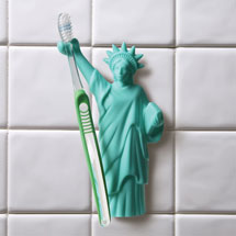 Statue of Liberty Toothbrush Holder