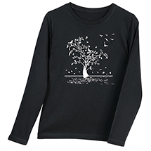 Falling Leaves Long-Sleeve T-Shirt