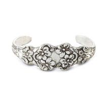 Silver Spoon Cuff Bracelet