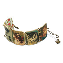 Vintage Kitties Bracelet