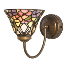Art Glass Wall Sconces - Floral