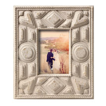 Tramp Art Photo Frame