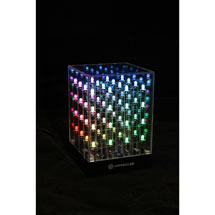 HypnoCube: A Lightshow Matrix Cube