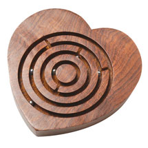 Rosewood Heart Labyrinth