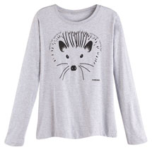 Marushka Hedgehog Long-Sleeve T-Shirt