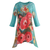 Bold Floral Tunic