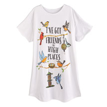 I've Got Friends in High Places Nighshirt