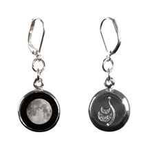 Custom Moon Phase Earrings