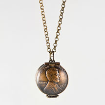 Abe Lucky Penny Locket