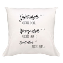 Great Minds Pillow