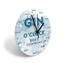 Personalized Gin Clock