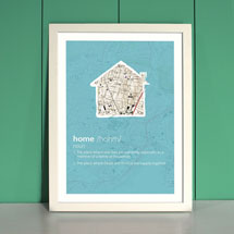 Personalized Home Definition Print
