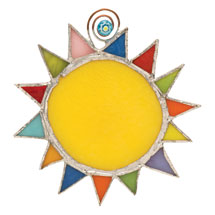 Stained Glass Sunshine Catcher