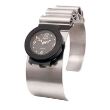 Ripple Cuff Bracelet Watch