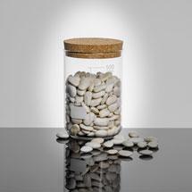 Glass Beaker Storage Jar - 500ml - Medium