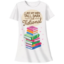 Tall Dark and Fictional Nightshirt