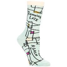 Sassy Socks - Running Late