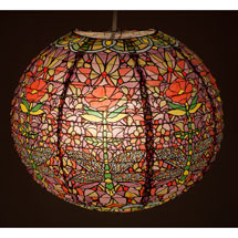 Dragonfly Stained Glass Paper Lantern