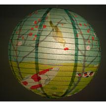 Koi Garden Paper Lantern